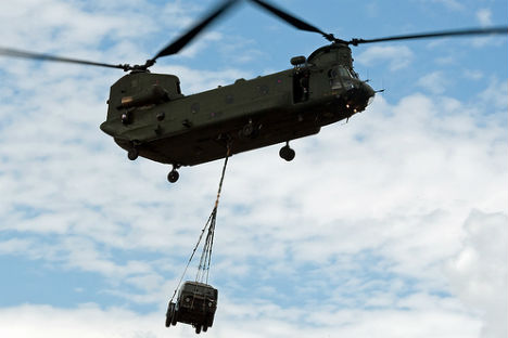 The Indian Air Force has chosen the Boeing Chinook. Source: A B IMAGES/Flickr