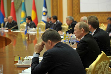 Ashgabat summit steps up CIS security and economic cooperation. Source: Kremlin.ru