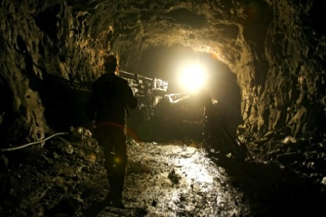 But whereas the main threat in coal mines is methane explosions, Norilsk's nickel miners are mostly afraid of tunnel collapses. Source: RIA Novosti