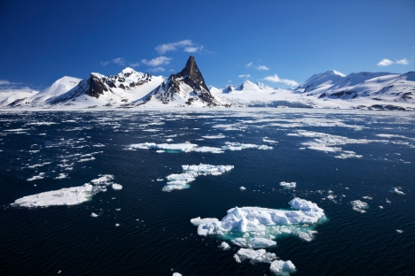 The Arctic region is expected to be the disputed territory between the world's powers. Source: Alamy / Legion Media