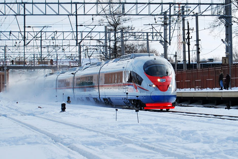 Russian authorities pin their hopes on the construction of high-speed railways to resolve traffic problems in big cities. Source: Lori / Legion Media