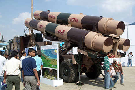 "BrahMos set to become a ""Super Rocket"". Source: flickr/srk_gan"