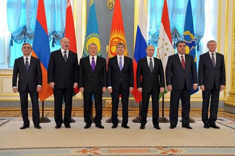 CSTO meeting in Moscow. Source: Kremlin.ru