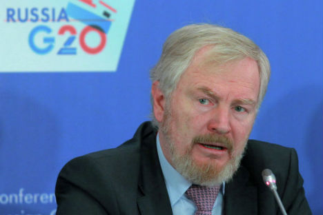 Russian Deputy Finance Minister Sergei Storchak. Source: Vitaliy Belousov / RIA Novosti