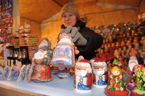 Christmas fairs open in Moscow. Source: ITAR-TASS