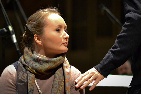 Julia Lezhneva. Source: Ensemble Matheus / Edouard Brane