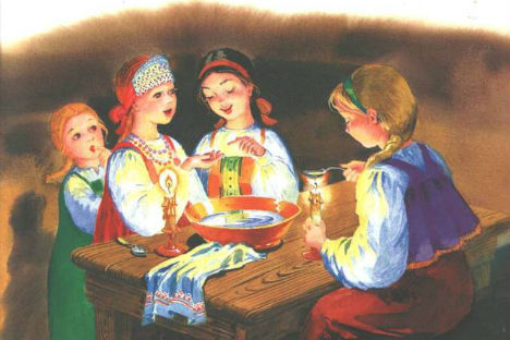 Christmas season fortune telling - Russian style. Picture: Free Source