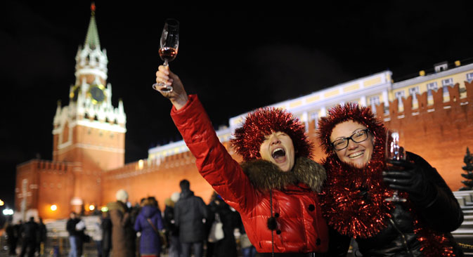 The shift from beer and vodka to wine is taking place in the growing class of young professionals. Source: RIA Novosti / Vladimir Astapkovich