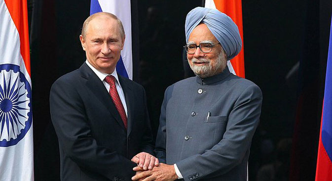 The 13th Indo-Russian summit between visiting Russian President Vladimir Putin and Indian Prime Minister Manmohan Singh concluded in New Delhi on Monday. Source: ITAR-TASS