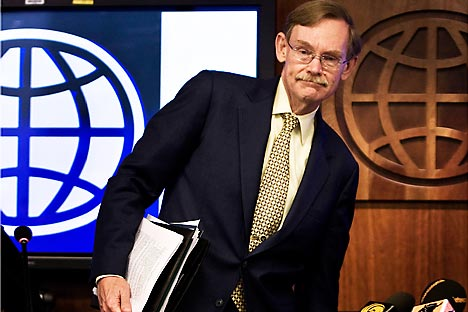 World Bank Group President Robert B. Zoellick