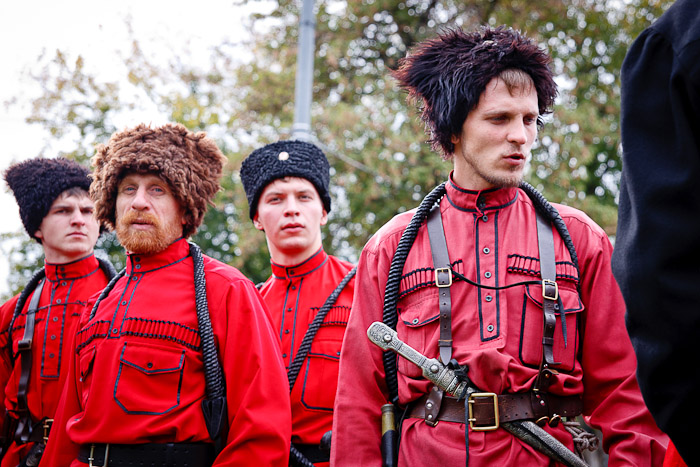 Cossacks today look differently but they are as strong-willed and free-spirited as their ancestors