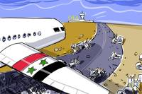 The Russian position on Syria: myths and reality. Drawing by Alexey Iorsh