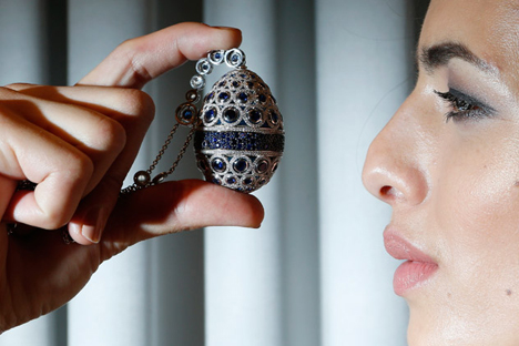 While the tsar was Faberge's most important customer, the workshop made items for other wealthy clients. Source:Reuters/Vostock-Photo
