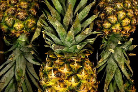 Pineapple is an exotic fruit for Russia. Source: Flickr/Dennisweiser