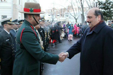 """Ambassador Malhotra said India-Russia relations were """"unique, multifaceted and time-tested"""". Source: Press Photo/Embassy of India in Moscow"""
