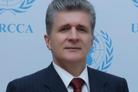 UN Secretary General's Special Representative Miroslav Jenca. Source: Press Photo