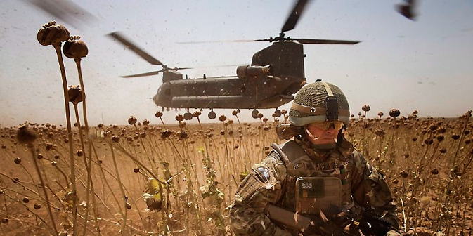 The situation in Afghanistan in coming months will bolster trade in illegal drugs. Source: Flickr/antsz1