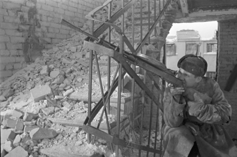 The victory at Stalingrad was not simply a matter of enormous human sacrifice. Source: Zelma/RIA Novosti