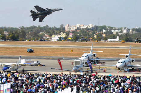 Aero India 2013. Source: AFP/East News