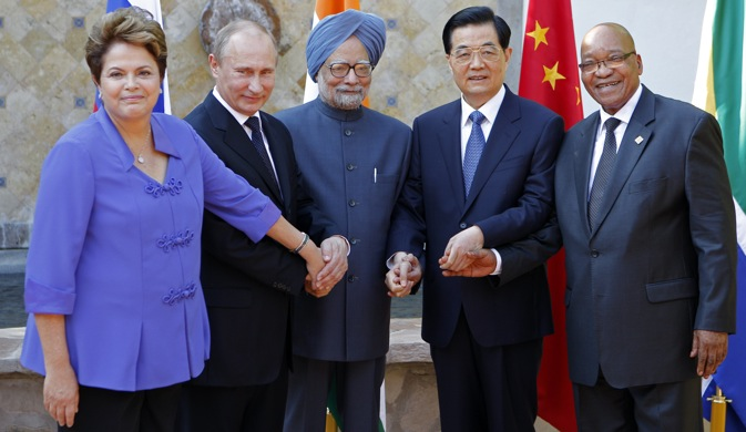 The BRICS countries have a remarkable opportunity to coordinate among themselves after the global economic meltdown is over because major economies would continue to be plagued by financial instability and insipid growth. Source: AP