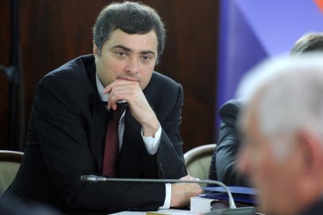 Russia's Deputy Prime Minister Vladislav Surkov. Source: RIA Novosti