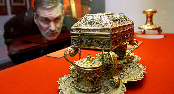 The Moscow Kremlin Museum is considering a couple of initiatives in Russia and India. Source: ITAR-TASS