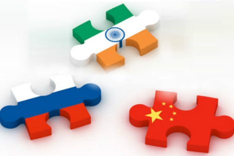 Strengthening the Moscow-New Delhi-Beijing triangle is an urgent necessity today. Source: Getty images