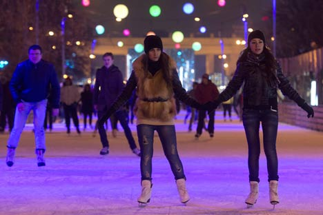 The festivities in Russia carried on over a four day long weekend for Woman's day, 8th of March. Source: RIA Novosti