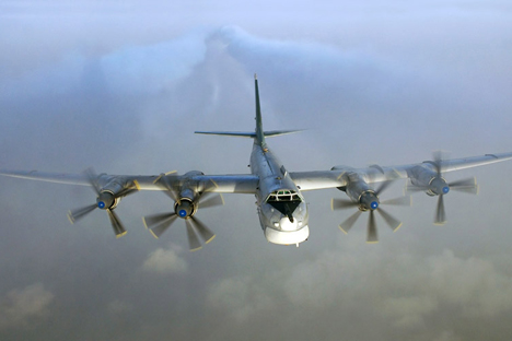 PAK DA is to replace the strategic Tupolev-95 (photo) and Tupolev-22M long-distance bombers. Source: Press Photo