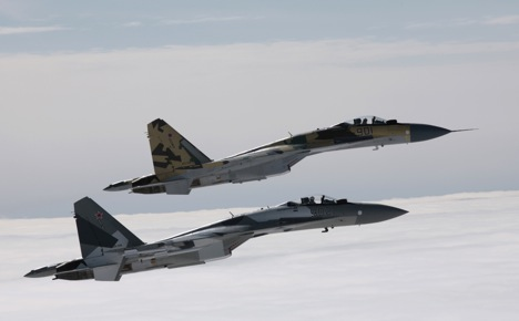 Deliveries of the Sukhoi-35 fighters, whose characteristics put them very close to fifth-generation aircraft, have started. Source: Sukhoi.org