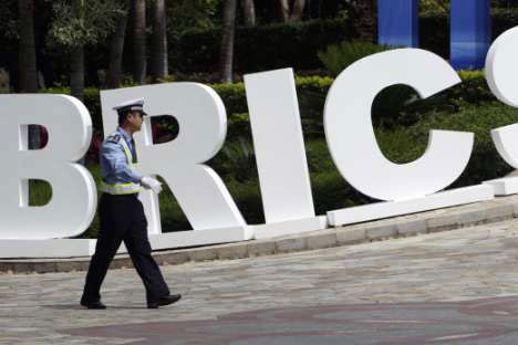 Syrian crisis provides a unique opportunity for the BRICS to emerge as a responsible peacemaker in the world. Source: Reuters / Vostock Photo