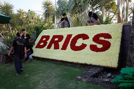 The BRICS group is not an economic union, but primarily a political union. Source: Getty Images / Fotobank