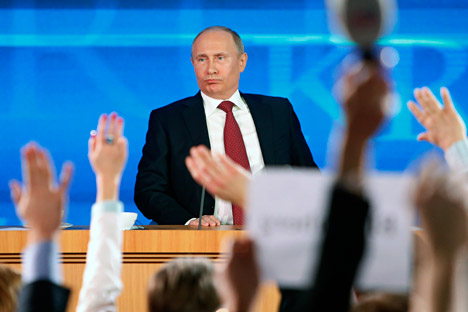 Russia's authorities have long realised that rampant corruption is threat Number One to the economy. Source: AP