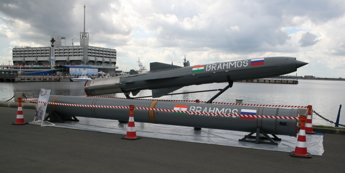 Brahmos is modelled on the Russian-designed 3M55 Yakhont (SS-N-26) missile. Source: One half 3544/wikimedia.org