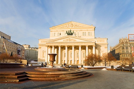 Bolshoi Theatre in Moscow. Source: lori/legion media