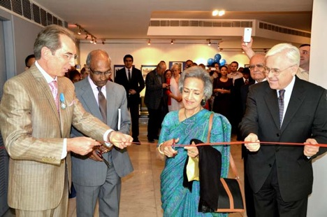 "The exhibition, which was jointly organised by the Russian Centre of Science and Culture (RCSC) and the embassy, was a virtual reflection of Indian life ""through Russian eyes."" Source: rusembassy.in"