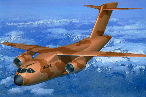 It is forecast that 205 aircraft will be manufactured, of which 30% are to be sold globally. Source:  Press Photo/UAC-TA