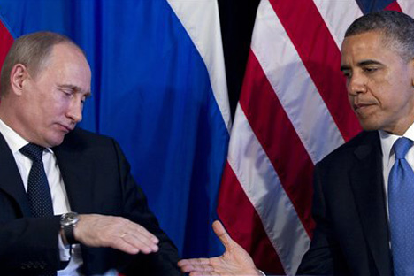 Washington should start by speaking with Moscow on equal terms and with respect. Source: AP