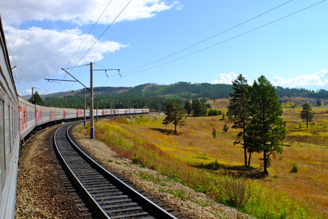 Trans-Siberian Railway: Linking East and West. Source: Elena Proshina