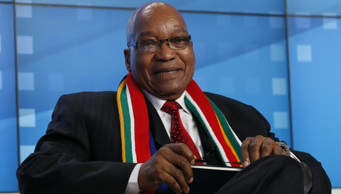 "South African President Jacob Zuma: ""BRICS is not a talk show"". Source: Reuters"