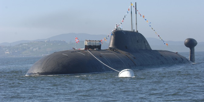 The partly-completed Project 971 (Class Schuka-B) vessel may become the Indian Navy's second nuclear submarine. Source: ITAR-TASS