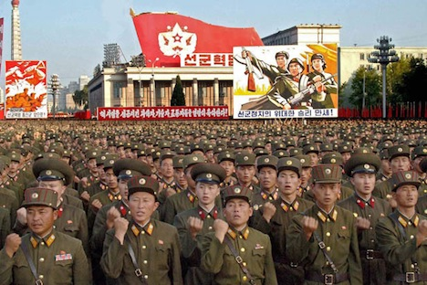 Pyongyang's flaunting of its nuclear weaponry may be an attempt to push for global acceptance of North Korea as a nuclear state. Source: AP