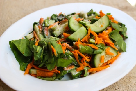 Spring salad. Source: Divya Shirodkar
