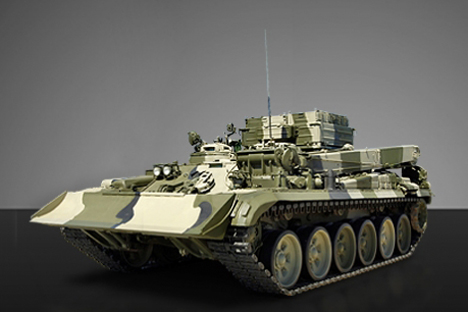 The military expect the urban warfare kit to be mounted on combat tanks  in the near future. Source: uvz.ru