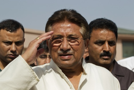 Musharraf's fate will have a huge bearing on Pakistan's political economy. Source: Reuters