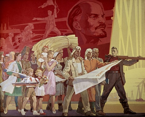 A May Day poster from yesteryear. Source: RIA Novosti