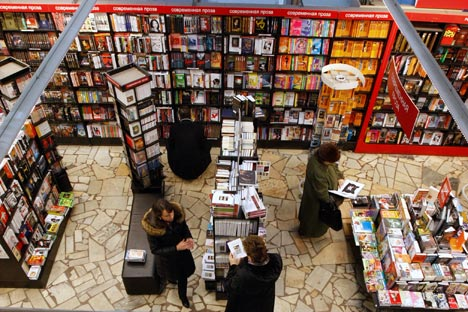 Among the broader-scope English-language shops are Bookrunner, Dom Innostranoi Knigi and Dom Knigi. Source: Kommersant