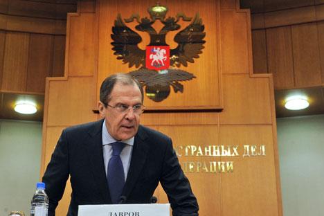"Lavrov: ""Russia will continue to play the role of a balancing factor in international affairs, a role that the majority of our partners confirm to be highly relevant"". Source: Kommersant"