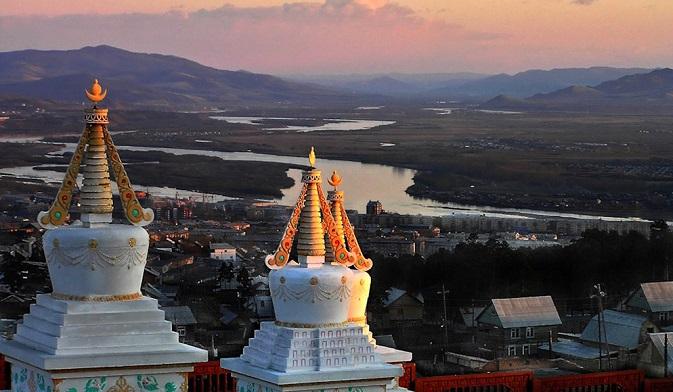 Ulan-Ude keeps Buddhism traditions in Russia. Source: Igor Glushko