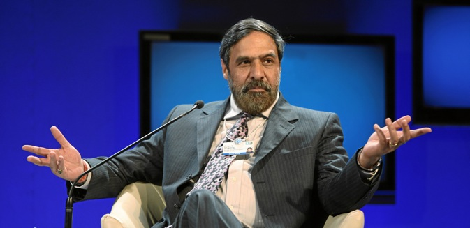 Anand Sharma said India is Russia's 18th largest trading partner and jumped 5 positions up last year. Source: Photoshot